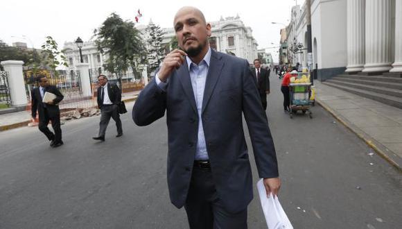 En la mira. Ilan Heredia manejó las finanzas del nacionalismo en el 2011, según Pedro Santos. (César Fajardo)