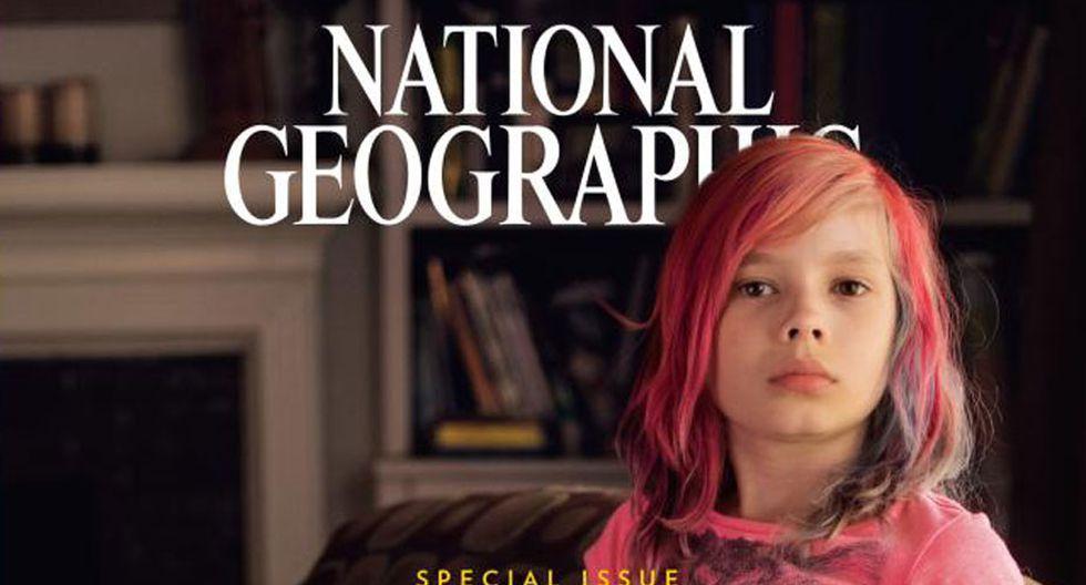 Jackson Avery en la portada de la National Geographic. (Captura)