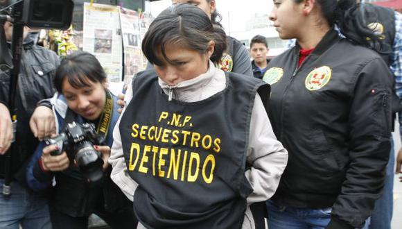 Detenida no respondió a la prensa durante diligencia. (Joseph Ángeles/USI)