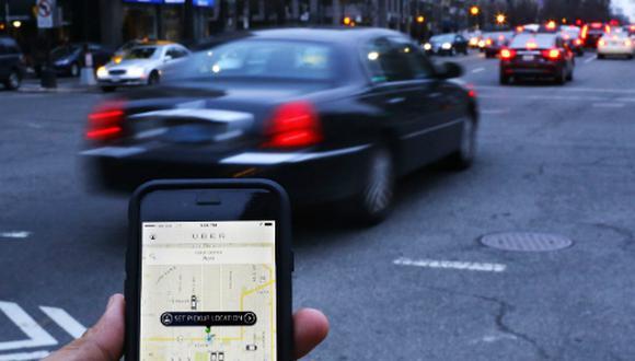 Uber plantea soluciones para combatir la inseguridad. (Foto: AFP)