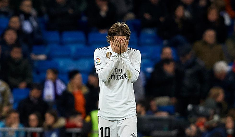 Real Madrid perdió 2-0 ante el Real Sociedad en casa por LaLiga Santander. (Getty)