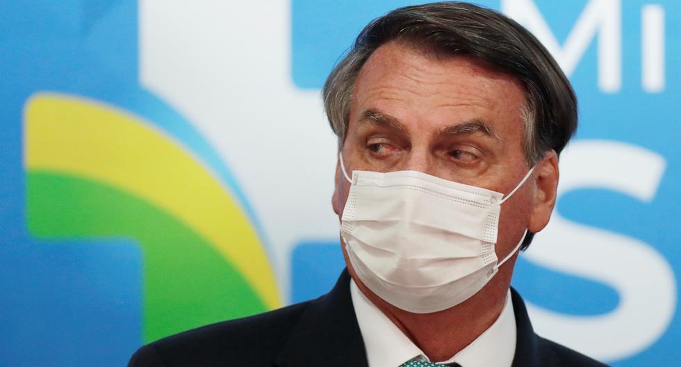 Imagen del presidente de Brasil, Jair Bolsonaro. (REUTERS/Ueslei Marcelino).