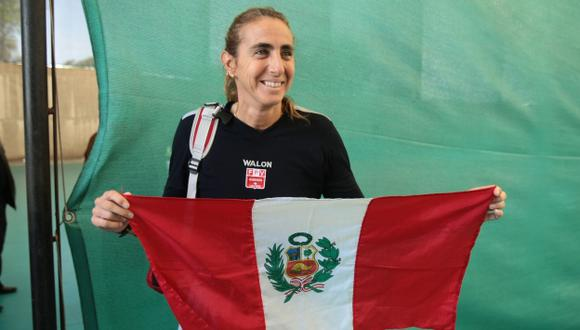 Natalia Málaga  se ganó su lugar. (Rafael Cornejo)