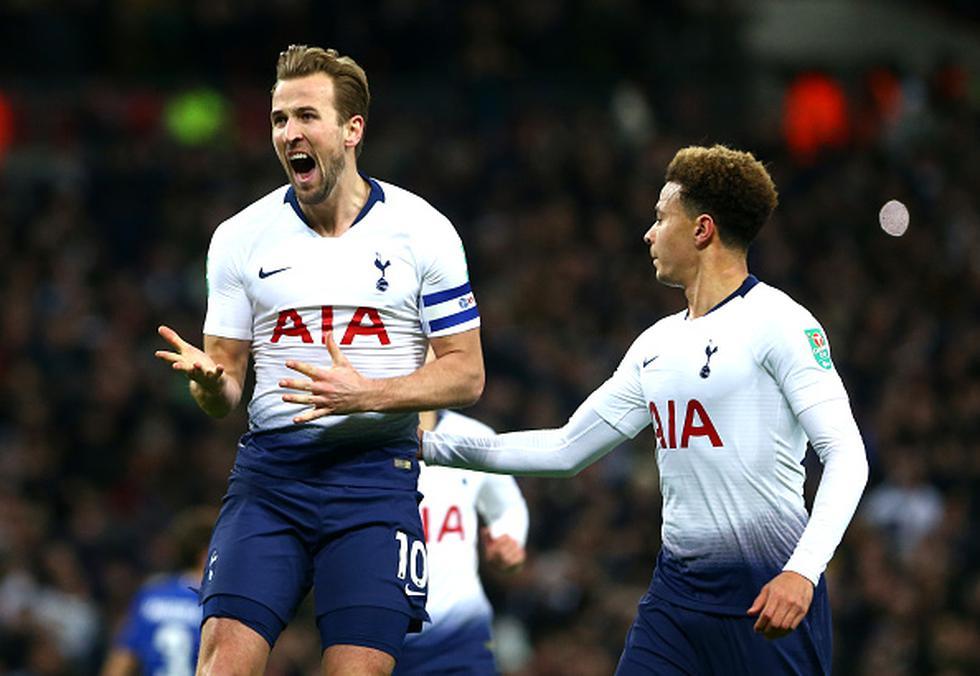 Tottenham ganó 1-0 al Chelsea por las semifinales de Copa de la Liga. (Getty)