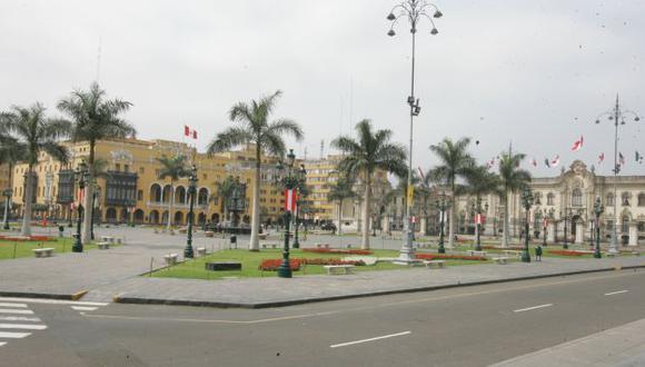 La Plaza Mayor congregará a los competidores del torneo internacional. (Perú21)