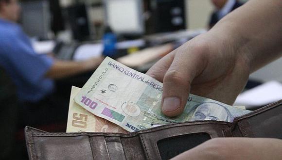 El ingreso promedio durante los meses analizados fue de S/.1,324. (USI)