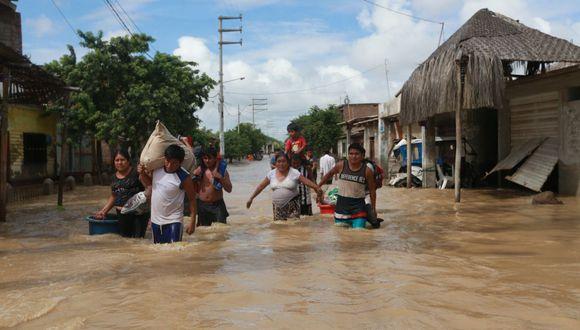 Piura fue afectada por el Fenómeno El Niño en el 2017. (GEC)