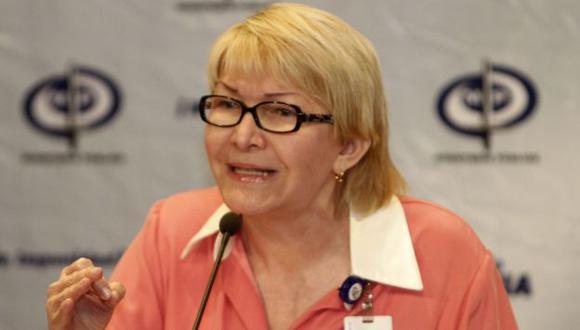 Luisa Ortega, fiscal general de Venezuela (El Billuyo).
