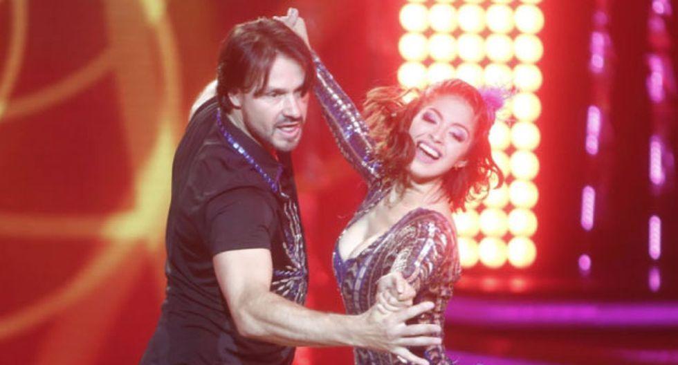 El argentino regresó al reality de baile.