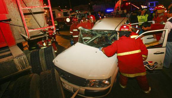 Accidente ocurrió en el Callao. (USI)