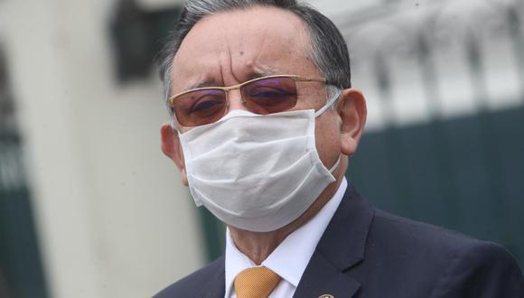 Edgar Alarcón tiene pendientes dos denuncias constitucionales admitidas a trámite desde setiembre. (Foto: GEC)