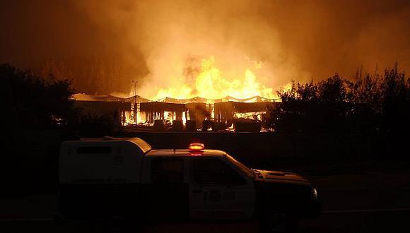 Los incendios forestales vienen castigando a Chile desde el 30 de diciembre pasado. (Reuters)