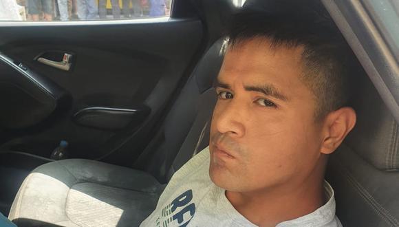 Mario Salcedo Valle fue capturado por la Policía cuando fugaba en una mototaxi.