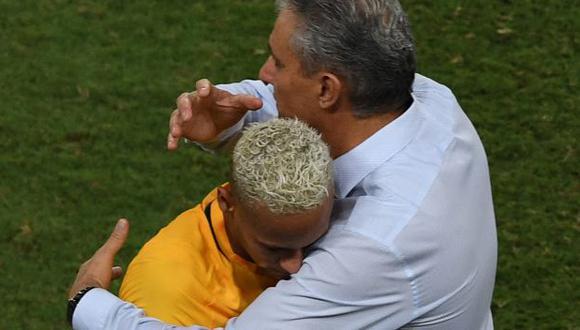 Neymar comandará el ataque de Brasil en el amistoso ante Qatar. (Foto: AFP)