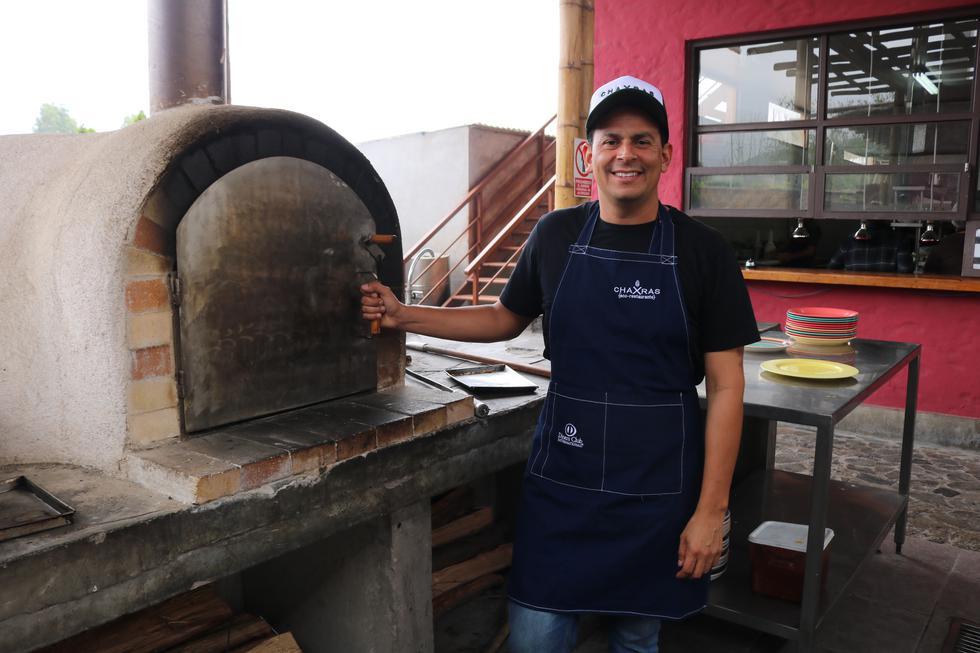 Eduardo Navarro, chef de Chaxras Eco Restaurante. (Esther Vargas)