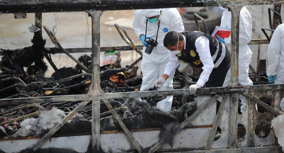 Fiori: Municipalidad de San Martín de Porres denunciará penalmente a dueños del terminal ilegal donde se incendió el bus (GiancarloAvila/GEC)