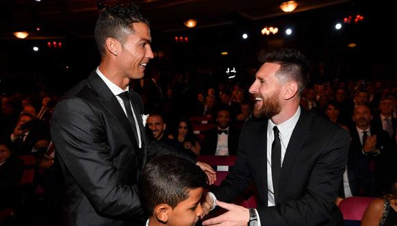 Cristiano Ronaldo se refirió a Lionel Messi. (Foto: AFP)
