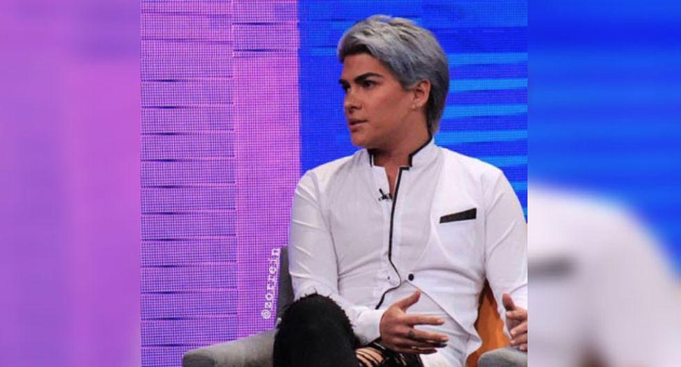 El panelista de 'Espectáculos' se presentó en el set de 'Beto a saber' .
