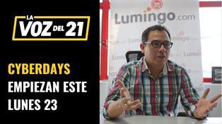 Los CyberDays de Lumingo empiezan el Lunes 23 de noviembre