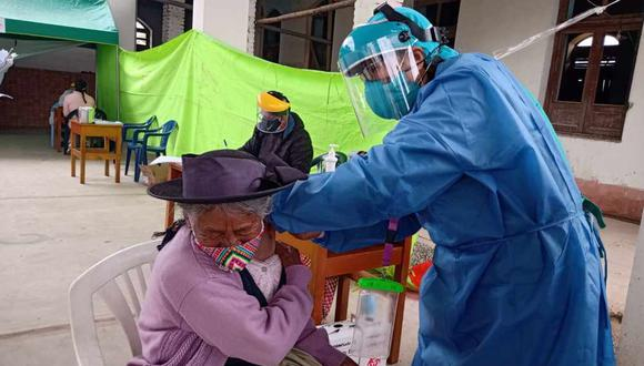 Junín: Diresa vacunó a más de 200 mil personas contra la influenza (Foto: Diresa Junín)