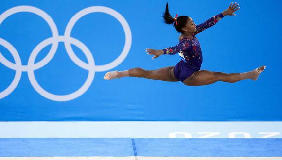 Simone Biles se retiró de cuatro participaciones individuales en Tokio 2020. (Foto: Agencias
