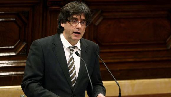 Carles Puigdemont es el nuevo presidente de la Generalidad de Cataluña (EFE)