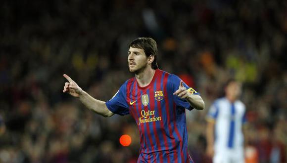 Messi ha cumplido una gran campaña. (Reuters)