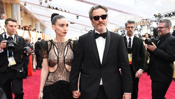 Un amigo cercano a la pareja, Joaquin Phoenix y Rooney Mara, confirmó la noticia.  (Foto: Valerie Macon / AFP)