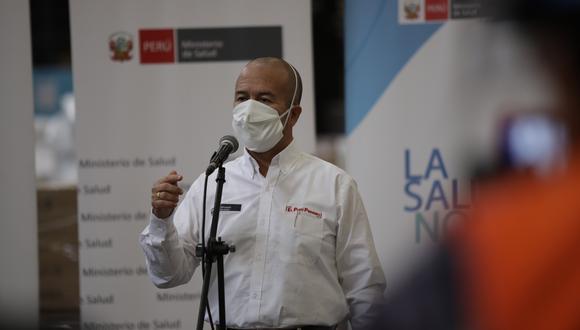Víctor Zamora destacó que casi todas las personas que salen a las calles usen mascarilla. (Foto: Anthony Niño de Guzman / GEC)