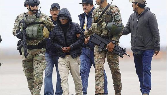 Terrorista ´Julio Chapo´ fue capturado en el Vraem en 2019.