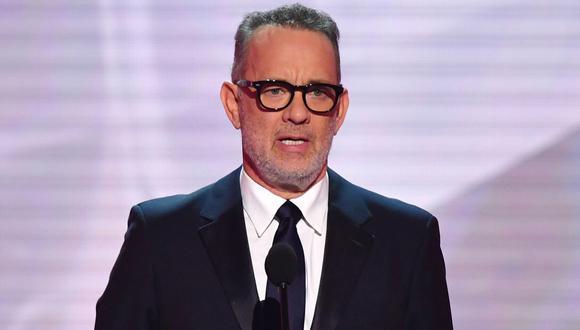 Tom Hanks presentará programa especial de TV por investidura de Joe Biden. (Foto: AFP/Frederic J. Brown)