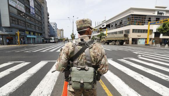 Oficializan ampliación de estado de emergencia a través de Decreto Supremo. (Foto: Diana Marcelo/GEC)