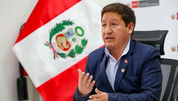Guido Bellido expresó que será el Ministerio Público quien zanje el futuro del genocida Guzmán Reinoso. (Foto: PCM)
