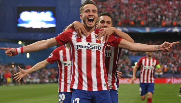 Manchester United pagaría 50 millones de euros por Saúl. (Foto: AFP)