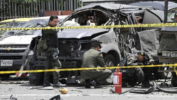 Dos personas en moto habrían cometido el atentado. (AP)