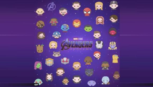 "Marvel Studios lanzó los emojis oficiales de ""Avengers: Endgame"" para Twitter. (Foto: Captura de video)"