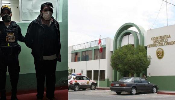 Arequipa: Detienen a obrero que intentó acuchillar a su esposa tras golpearla en su vivienda. (GEC)