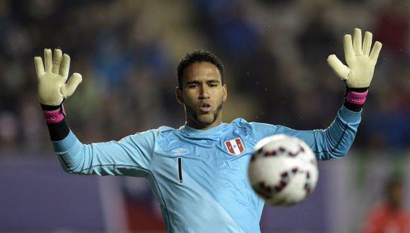 Pedro Gallese será titular ante Nueva Zelanda. (AFP)