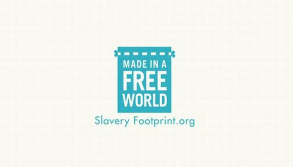 Foto: SlaveryFootprint