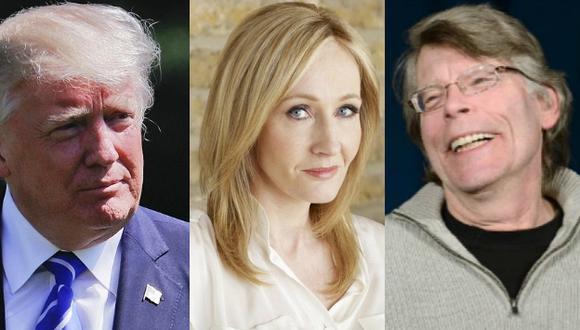 Twitter: Donald Trump bloqueó a Stephen King y J.K. Rowling lo consoló (Composición)