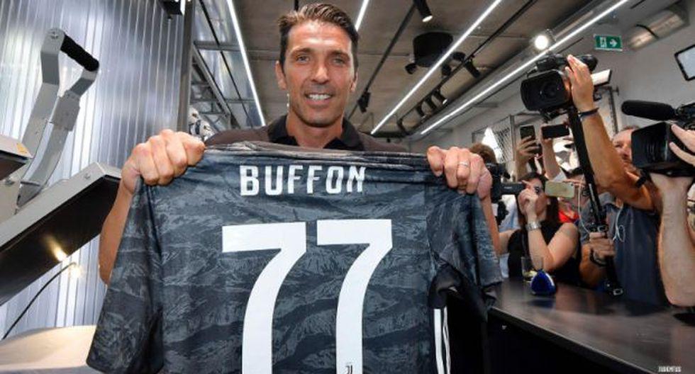 El arquero italiano jugó durante 18 años en Juventus, de 2001 a 2018, conquistando nueve títulos de la Serie A, cinco Copas Italia y seis Supercopas italianas. (Foto: @juventusfc)