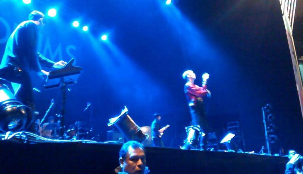 Así se vive el concierto de MGMT en el Parque de la Exposición. (Carolina Moreno)