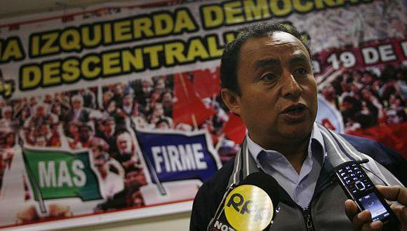 Ministerio Público lo investiga por las declaraciones que ahora intenta negar. (USI)