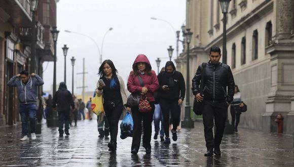 La sensación de frío se acentúa conforme se acerca el invierno. (Foto: GEC)