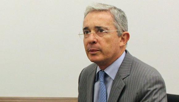 El pasado 6 de abril, Uribe aseguró que le hicieron una prueba para COVID-19 y que dio negativo. (Archivo/EFE)