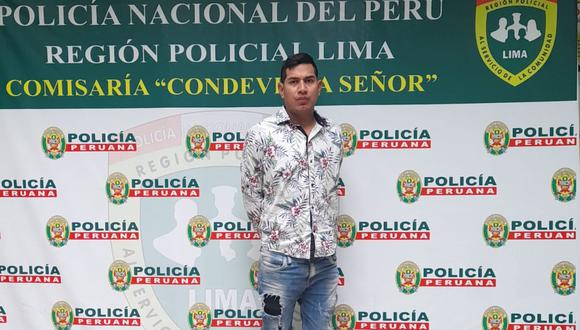 Emilio Javier Reátegui Salas (29), quien tiene varias denuncias por agresión física y psicológica en agravio de su pareja, fue liberado por la Fiscalía. (Foto: PNP)