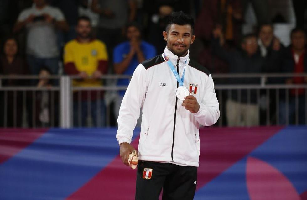¡Medalla de plata para Perú! Alonso Wong subió al podio de en los Panamericanos. (Hugo Pérez)
