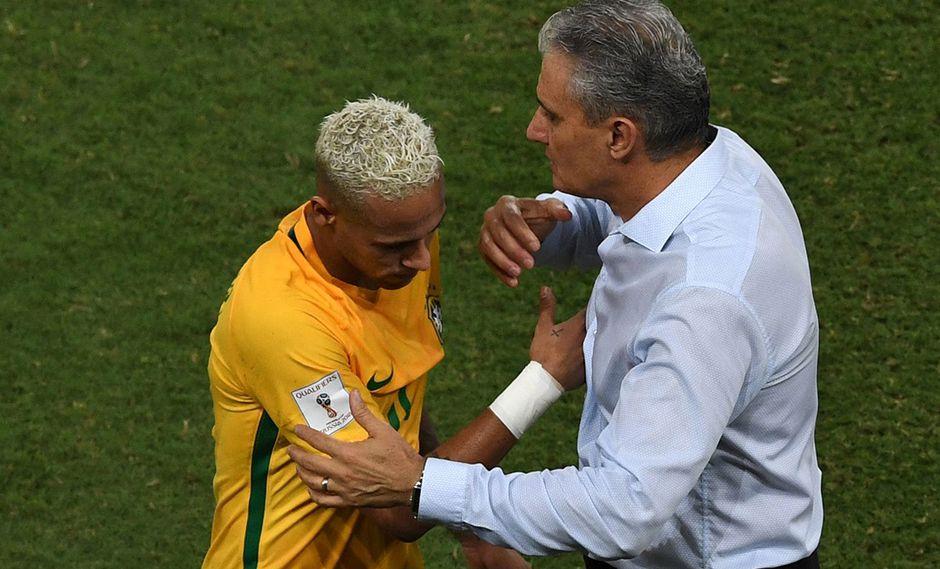 El caso de Neymar fue tocado por Tite, DT de la selección de Brasil, en conferencia de prensa. (Foto: AFP)