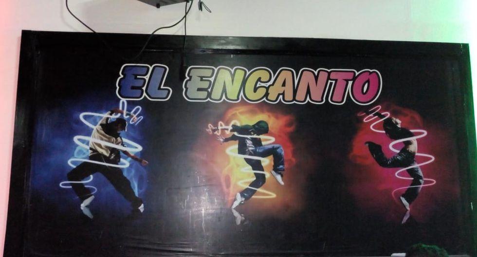 Se trataría de un prostíbulo clandestino. (Municipalidad de Villa el Salvador)