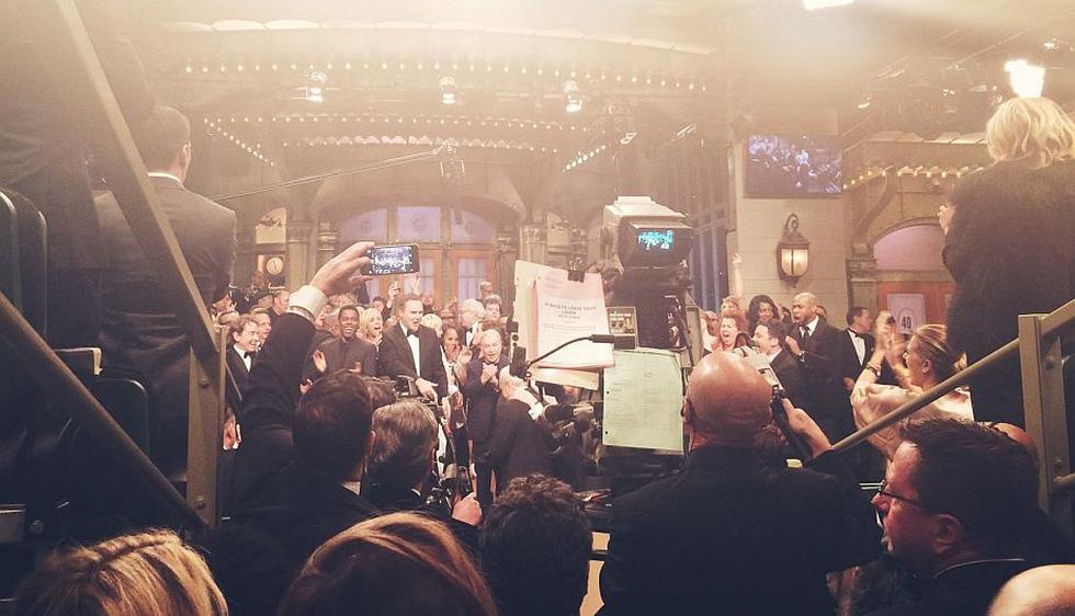 Muchos artistas se unieron a la celebración de  'Saturday Night Live'. (Facebook Saturday Night Live)